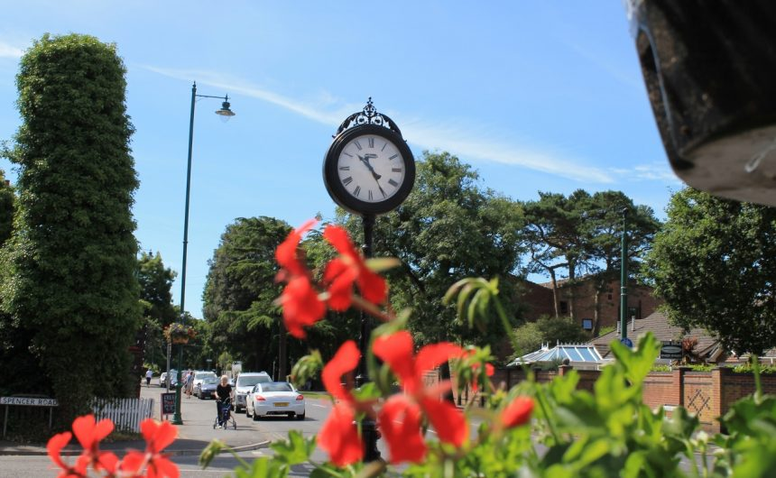 New Milton Clock Remembrance