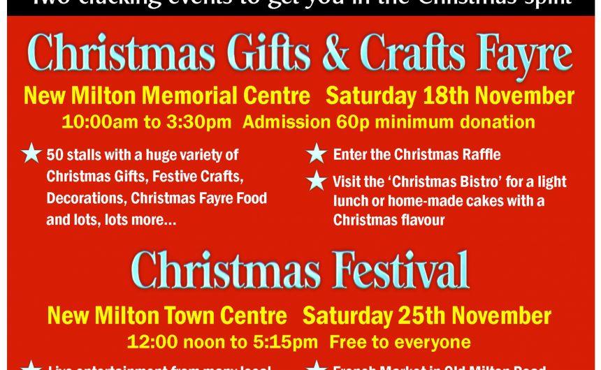 New Milton Christmas Festival