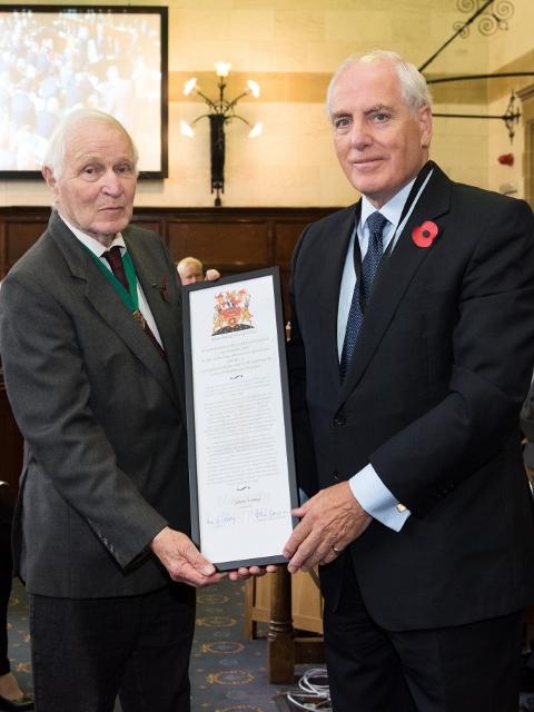 Honorary Alderman Cllr Alan Rice TD