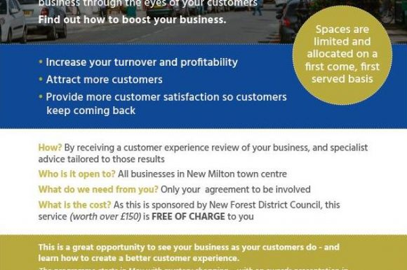 Mystery Shopper Opportunity for Local Traders