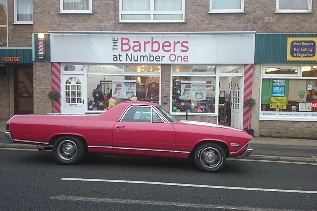 The Barbers at Number One